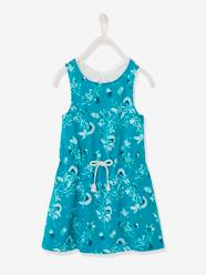 Girls-Dresses-Dress with Macramé Butterfly on the Back, for Girls