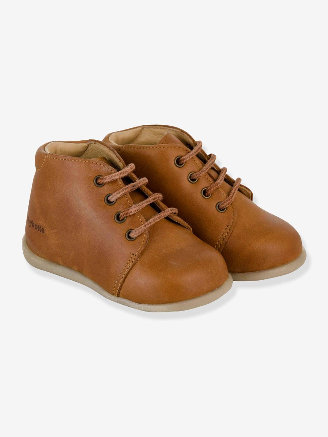 Leather Boots with Laces 6b01b7d39