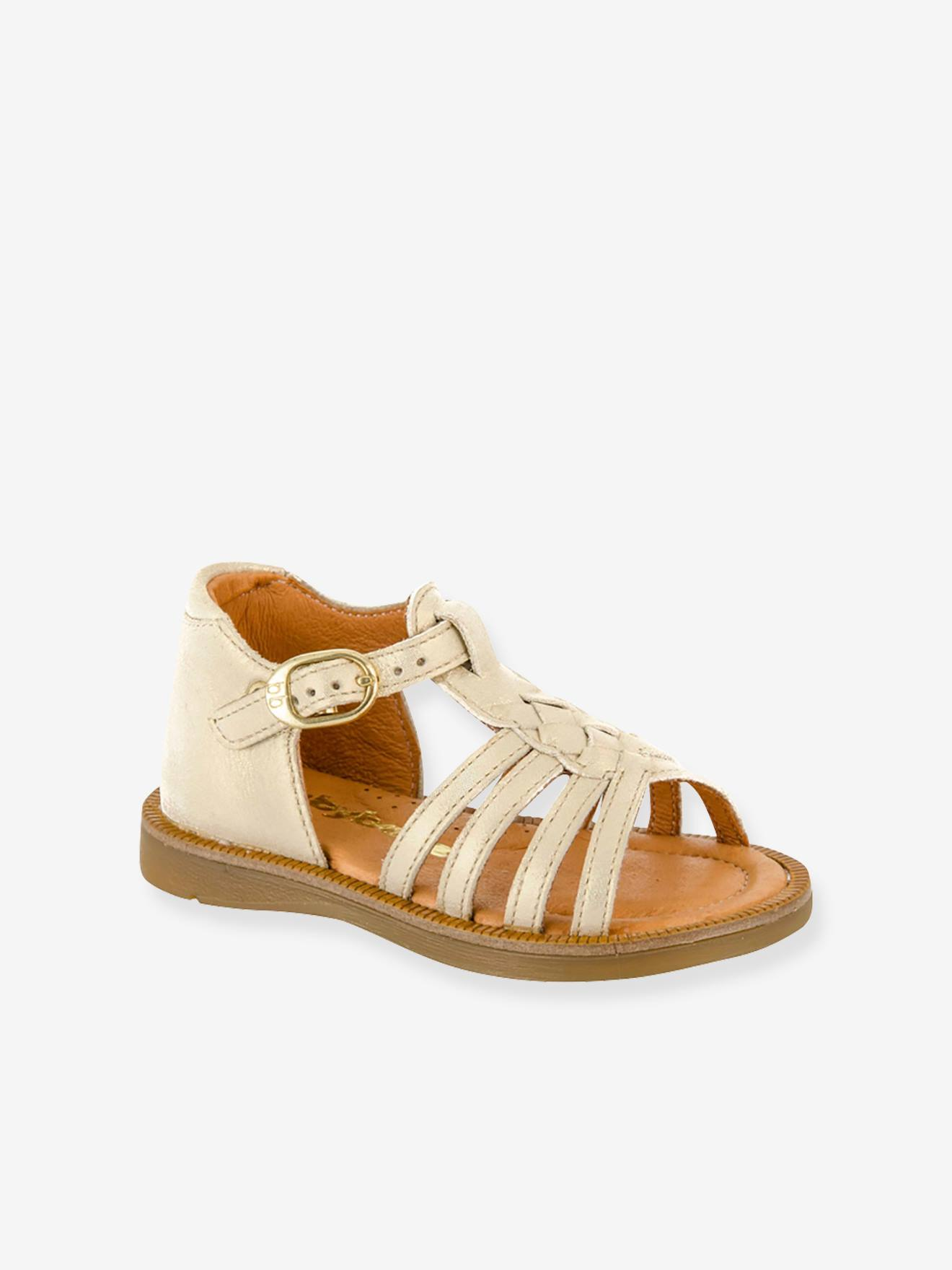 addc67d8a Leather Sandals for Baby Girls