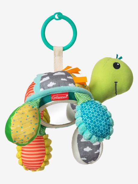 Go Gaga Playtime Pal® Turtle Mirror, by INFANTINO GREEN MEDIUM ALL OVER PRINTED