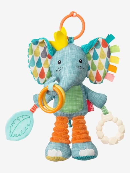 Go Gaga Playtime Pal® Activity Elephant, by INFANTINO BLUE MEDIUM SOLID WITH DESIGN