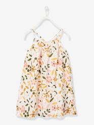 Girls-Dresses-Printed Dress, for Girls