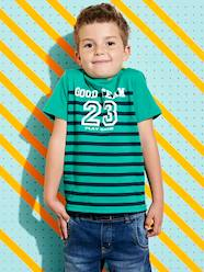 Boys-Tops-Striped T-shirt for Boys