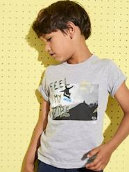 Boys-Tops-T-Shirt with Photo Print for Boys