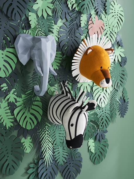 Wall Décor, Light Up Elephant GREY MEDIUM SOLID