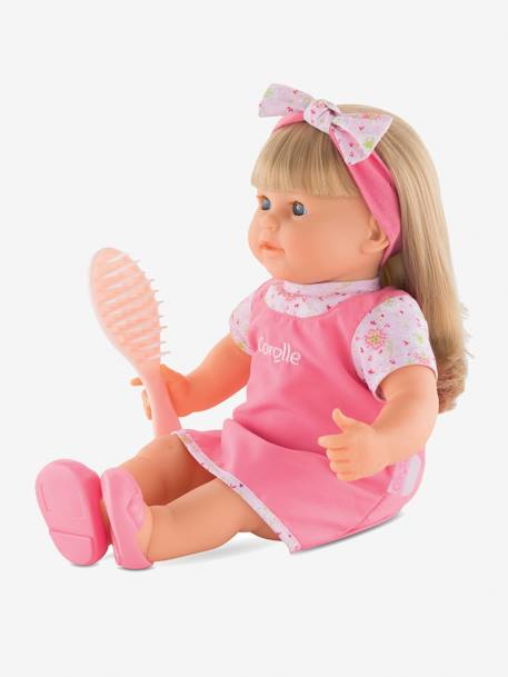 Corolle Adèle Big Doll PINK MEDIUM SOLID WITH DESIG