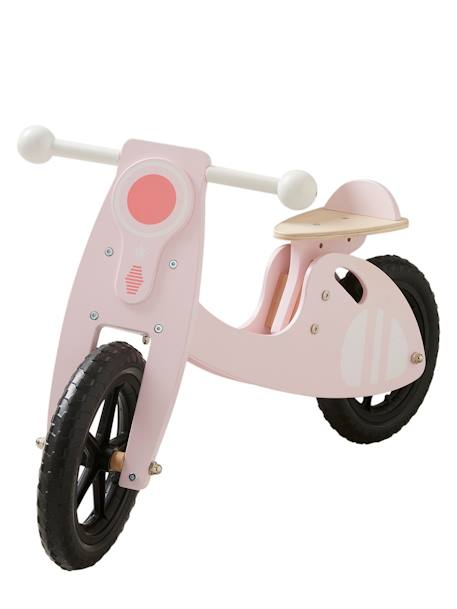 Wooden Scooter WHITE DARK TWO COLOR/MULTICOL