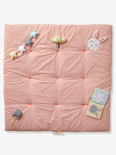 Soft Activity Mat, Without Arch, Sweet Fun PINK LIGHT ALL OVER PRINTED