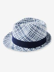 Boys-Accessories-Three-Tone Panama-Type Hat for Boys