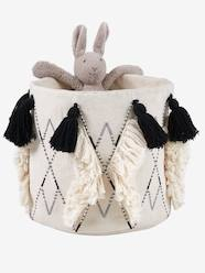 Storage & Decoration-Storage-Basket with Tassels, Jasmine