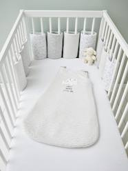 Furniture & Bedding-Baby Bedding-Cot Bumpers-Breathable Cot Bumper, Dreamin' Sheep