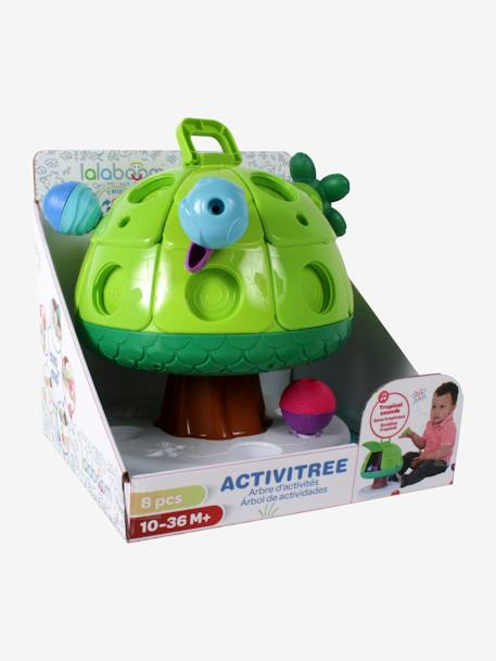 Activity Tree by Lalaboom GREEN MEDIUM SOLID