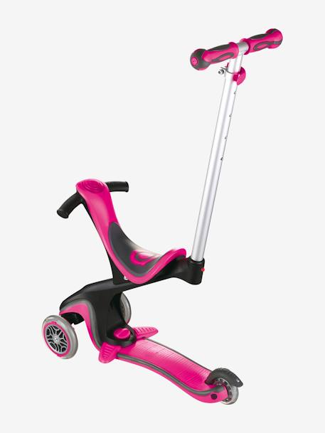 3-Wheel Scooter, EVO COMFORT by GLOBBER BLUE MEDIUM SOLID+PINK MEDIUM SOLID