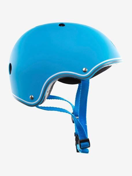 Helmet by GLOBBER BLUE MEDIUM STRIPED