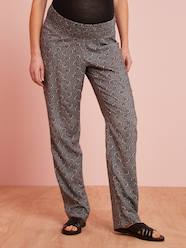 Maternity-Trousers-Maternity Trousers, African Print
