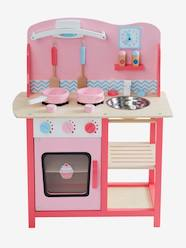 Toys-Kitchen Toys-Wooden Play Kitchenette
