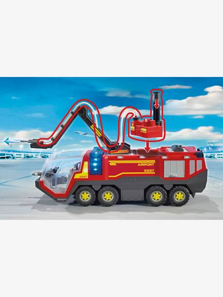 5337 Airport Fire Engine, by Playmobil RED MEDIUM SOLID WITH DESIG