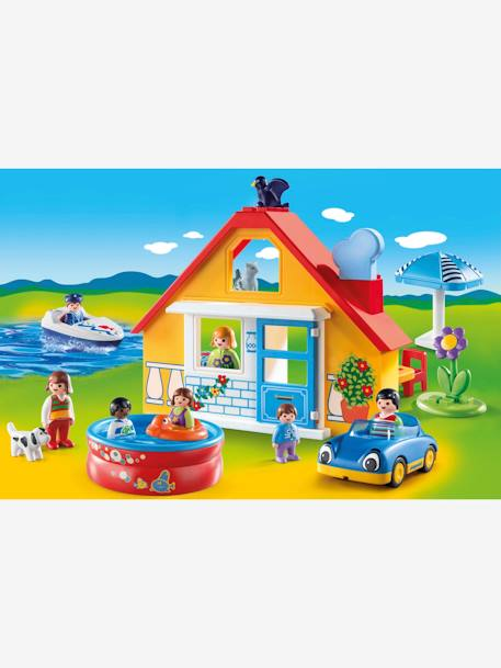 9527 Holiday Cottage, by Playmobil YELLOW MEDIUM SOLID
