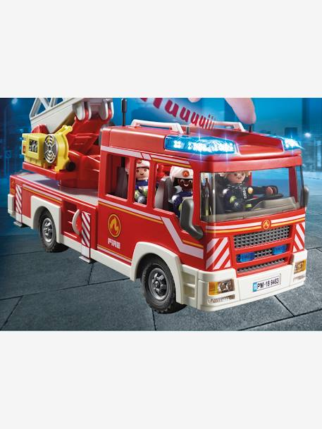 9463 Fire Ladder Unit, Playmobil RED MEDIUM SOLID WITH DESIG