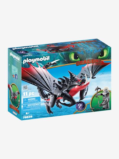 70039 Deathgripper with Grimmel, by Playmobil RED DARK SOLID