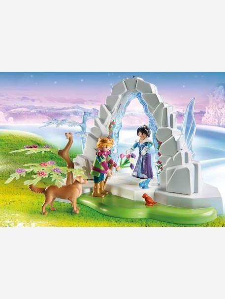 9471 Crystal Gate to the Winter World WHITE MEDIUM SOLID