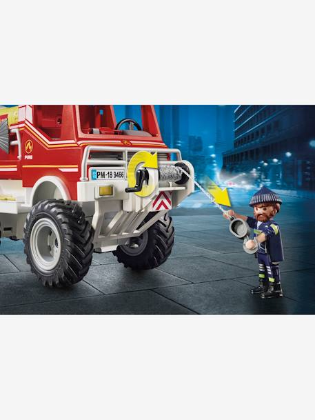 9466 Fire Truck, by Playmobil RED MEDIUM SOLID WITH DESIG
