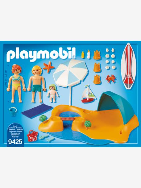 9425 Family Beach Day, by Playmobil BEIGE MEDIUM SOLID