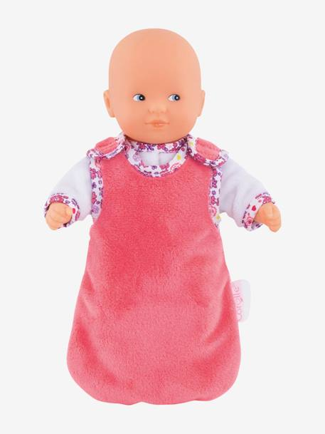 Good Night My Mini Calin, by Corolle PINK MEDIUM SOLID WITH DESIG