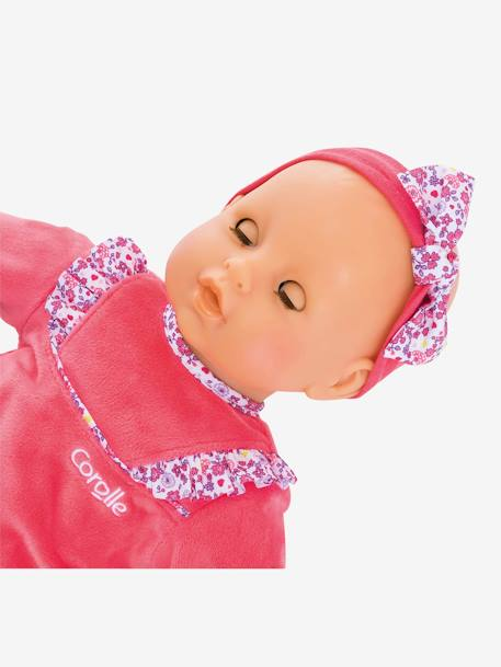 Lila Chérie Baby Doll, by Corolle PINK DARK SOLID WITH DESIGN