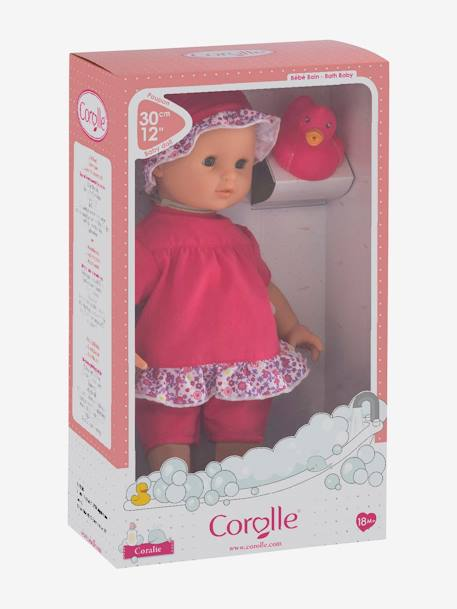 Bébé Bath Coralie, by Corolle PINK MEDIUM SOLID WITH DESIG