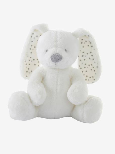 Musical Plush Bunny Soft Toy White