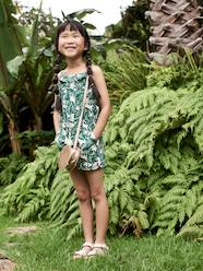 Girls-Dungarees & Playsuits-Jumpsuit with Exotic Print, for Girls