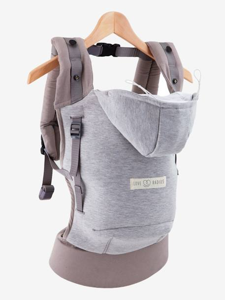 43c76acc1cd Hoodie Carrier by JE PORTE MON BEBE - grey light mixed color ...