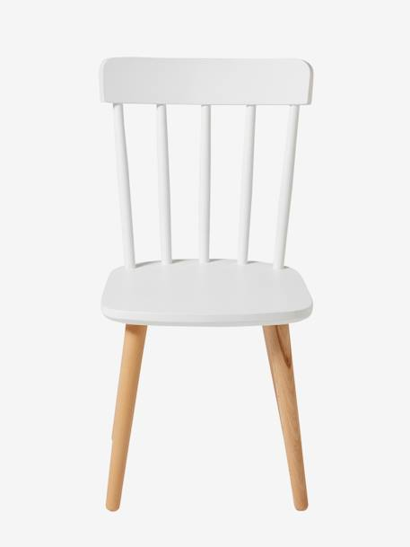 Architect Pre-School Chair, Seat H. 31 cm White / beech