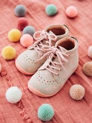 Shoes-Baby Footwear-Leather Booties for Baby Girls, Designed for First Steps