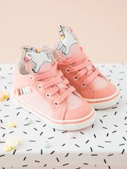Shoes-Baby Footwear-Baby Girl Walking-Trainers with Unicorn-Shaped Tongue for Baby Girls