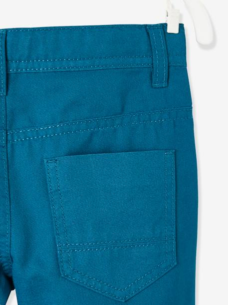 Boys' Indestructible Straight Cut Trousers BLUE DARK SOLID+BLUE DARK SOLID WITH DESIGN+BLUE MEDIUM SOLID+BROWN DARK SOLID+BROWN DARK SOLID WITH DESIGN+GREEN DARK SOLID+GREEN MEDIUM SOLID+RED MEDIUM SOLID