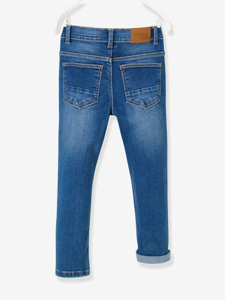 NARROW Hip MorphologiK Slim Leg Jeans for Boys BLUE DARK SOLID+BLUE DARK WASCHED+GREY MEDIUM WASCHED