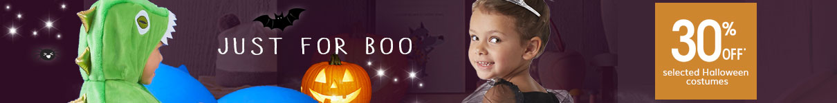 just for boo halloween shop