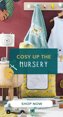 cosy up the nursery