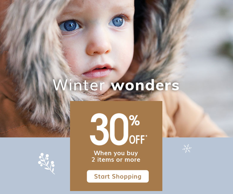 Winter Wonders 20% off all clothing and shoes