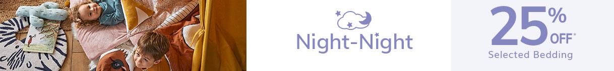 Night night selected bedding